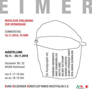 Ausstellung Eimer